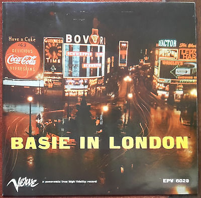 "Count Basie In London - Shiny Stockings / Flute Juice - 7"" Ita Ep 45 Giri"
