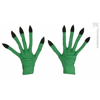 Witch Gloves for Halloween Fancy Dress Accessory