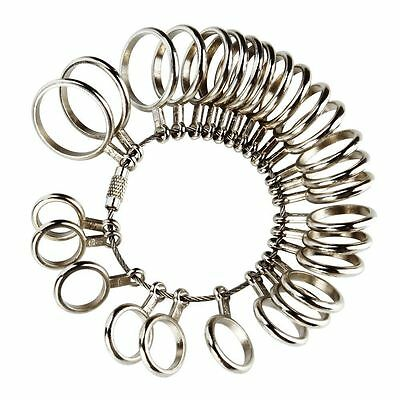 Hot Useful Professional US Size Gauge Finger Ring Sizer Jewelry Measure Tool