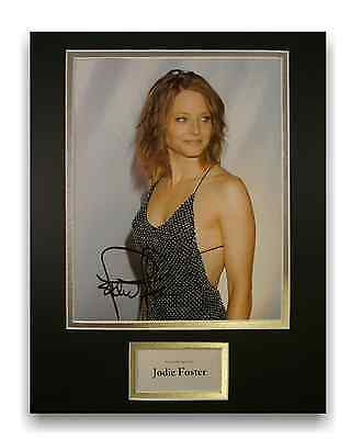Jodie Foster Authentic Hand Signed Autograph 8x10 Photograph