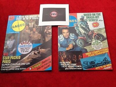 Blakes 7 Comic 1981 No.1---22, And One Collectors Magazines - Marvel Monthly