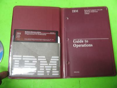 IBM 6936730 GUIDE TO OPERATIONS - PC XT/370 HARDWARE REFERENCE w/ SOFTWARE DISK