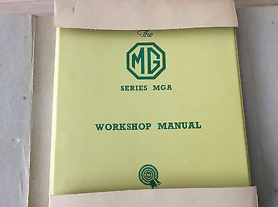 New Original Mga & Mga1600 Workshop Manual