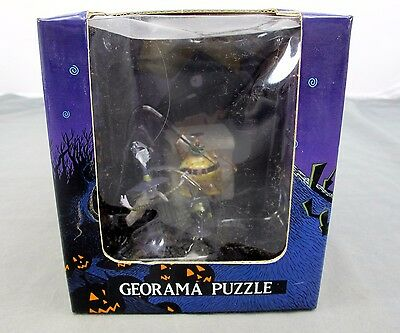 The Nightmare Before Christmas Disney Georama Puzzle 1 of 10 N-077 RARE New