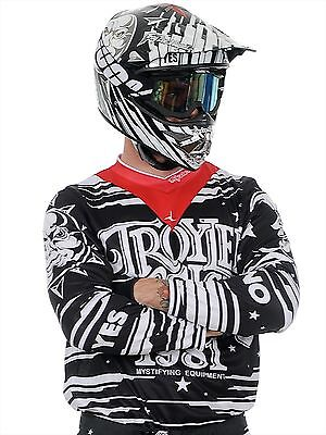 Troy Lee Designs Black 2015 GP Ouiga MX Jersey