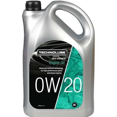 Technolube car engine oil 0w20 fully synthetic 5 litre ILSAC GF-5