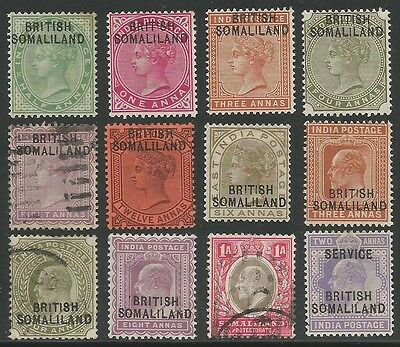 Somaliland Protectorate mounted mint and used range