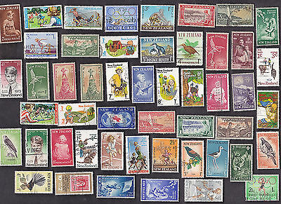 50 All Different NEW ZEALAND  SEMI-POSTALS STAMPS (XMAS)