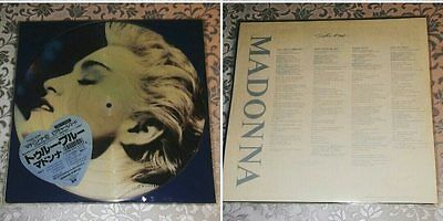 RARE PICTURE DISC MADONNA TRUE BLUE  Sire ‎– P-15004 JAPAN  --LIKE NEW-- !