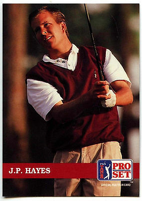 J.P. Hayes #152 PGA Tour Golf 1992 Pro Set Trade Card (C322)