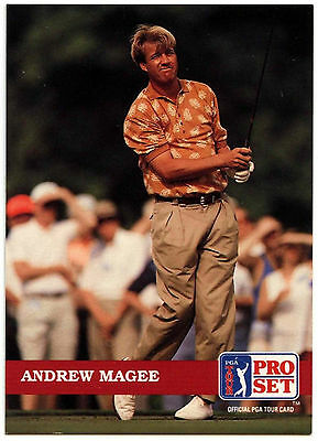 Andrew Magee #118 PGA Tour Golf 1992 Pro Set Trade Card (C322)
