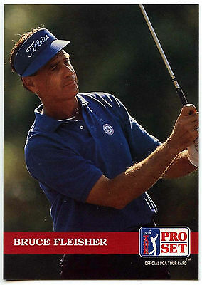 Bruce Fleisher #119 PGA Tour Golf 1992 Pro Set Trade Card (C322)