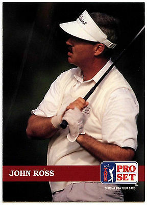 John Ross #151 PGA Tour Golf 1992 Pro Set Trade Card (C322)