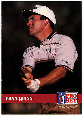 Fran Quinn #147 PGA Tour Golf 1992 Pro Set Trade Card (C322)
