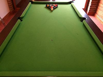 Pool Table with Slate Bed 7 ft x 4 ft plus accessories