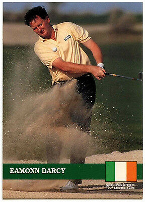 Eamonn Darcy #E2 PGA Tour Golf 1992 Pro Set Trade Card (C322)