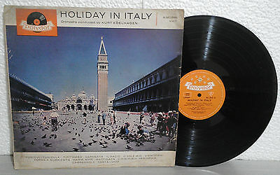 HOLIDAY IN ITALY - Orchestra contucted by Kurt Edelhagen   POLYDOR  lp 33 giri