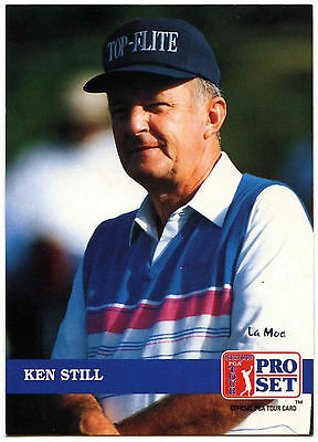 Ken Still #261 PGA Tour Golf 1992 Pro Set Trade Card (C322)