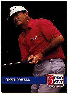 Jimmy Powell #235 PGA Tour Golf 1992 Pro Set Trade Card (C322)
