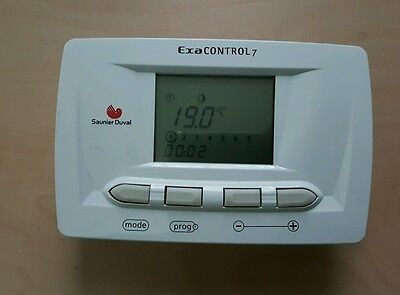 Thermostat ambiance saunier duval exacontrol 7 occasion