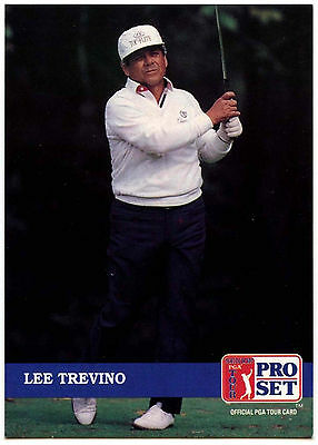Lee Travino #199 PGA Tour Golf 1992 Pro Set Trade Card (C322)