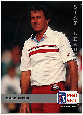 Hale Irwin #178 PGA Tour Golf 1992 Pro Set Trade Card (C322)