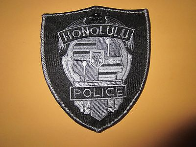 Collectible Hawaii Police Patch Honolulu Subdued New
