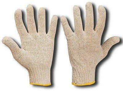 600 Pairs 100% Cotton Safety Gloves  Moisturising Health Professional