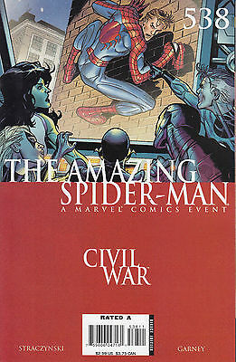 AMAZING SPIDERMAN 538...VF/NM...2007...Civil War Tie-In!...Bargain!