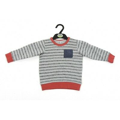 "Baby/boys ""ex M&s"" Sweatshirt Striped Light Jumper Casual Top 12 Months-7 Years"