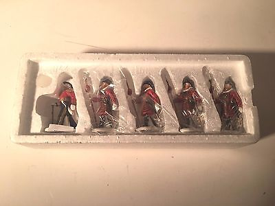 """DEPT. 56 """"NEW"""" DICKENS VILLAGE """"YEOMAN OF THE GUARD"""" Set of 5 #58397 Retired"""