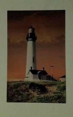 Vintage view - Pigeon Point Lighthouse - California