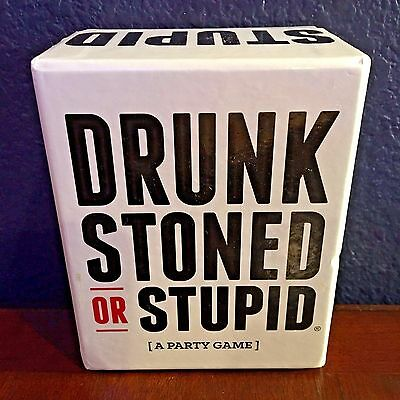 DRUNK STONED OR STUPID: An Adult Party Game BETTER than Cards Against Humanity!