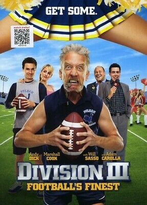 Division III: Football's Finest [New DVD] Ac-3/Dolby Digital, Dolby, Widescree