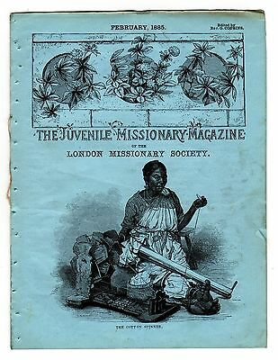 The Juvenile Missionary Magazine – February 1885 – Gifts for Chinese Chidlren