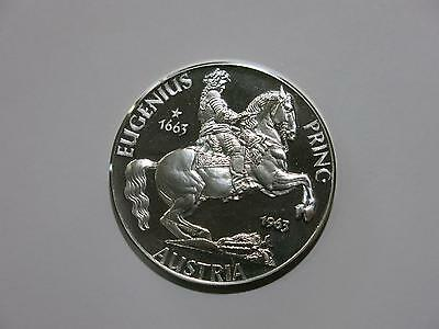 Germany Federal Republic 3 Silver Ducat Proof Coin 1963 Prince Eugene Of Austria