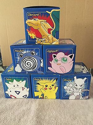 Set of six Pokemon 23k gold plated card set Limited Edition