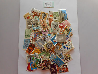 100 MINT postage stamps from CYPRUS pk 1 no doubles