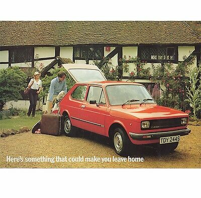 1978 Fiat 127 Thf Weekend Away Brochure Package 900L 900C 900Cl 1050Cl