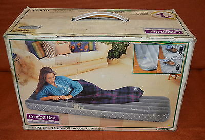 Intex Comfort Rest Single Inflatable Bed - free UK postage