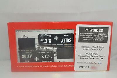 """SLATERS / POWSides 187 4mm """" Sully & Co.""""Private Owner Wagon Kit"""