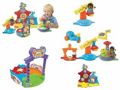 Kids Childrens Educational Toy Game Gift VTech Toot Friends Spin Around Carnival