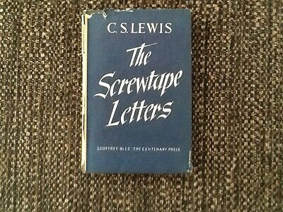 the book the screwtape letters by c.s.lewis