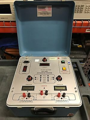 Adwel Wrt-100 Winding Resistance Ohmmeter 10 Amp - Used - Good Condition