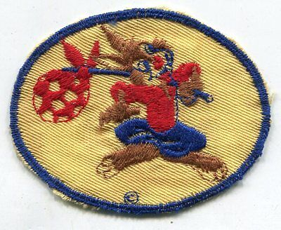 Original WWII Brer Rabbit Disney Patch Tan