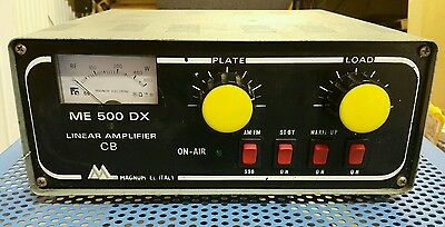 Amplificatore Radio Lineare Amplifier ME 500 DX Magnum Electronic Tube 25 32 MHz