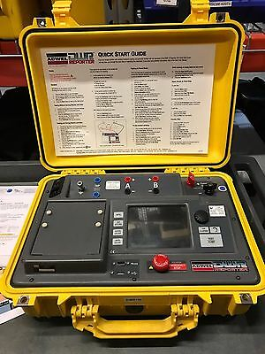 Adwel Dwr-10 Winding Resistance Ohmmeter 10 Amp - Used - Good Condition