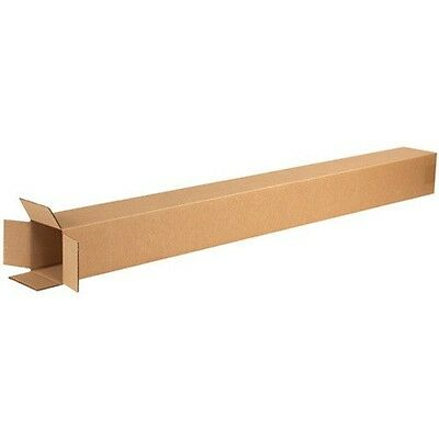 25 4x4x48 TALL Cardboard Shipping Boxes Corrugated Cartons