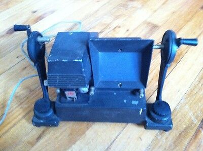 Vintage Mansfield Reporter 8mm Film Editor Model 650 With Free Shipping