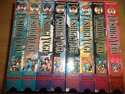 Fushigi Yugi The Mysterious Play 8 VHS Box Set